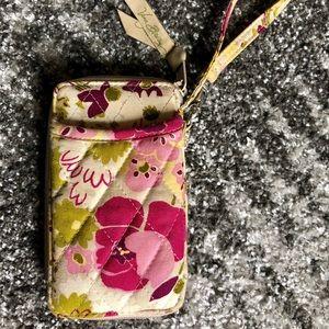 Vera Bradley Make Me Blush Wallet Wristlet